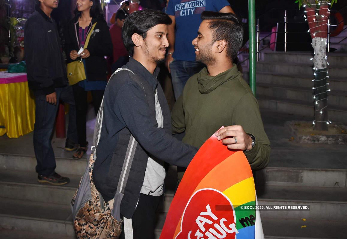 LGBTQIA community members get free hugs in Lucknow