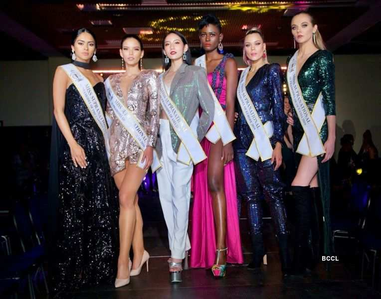 Winners of Supra Model of the Year at Miss Supranational 2019