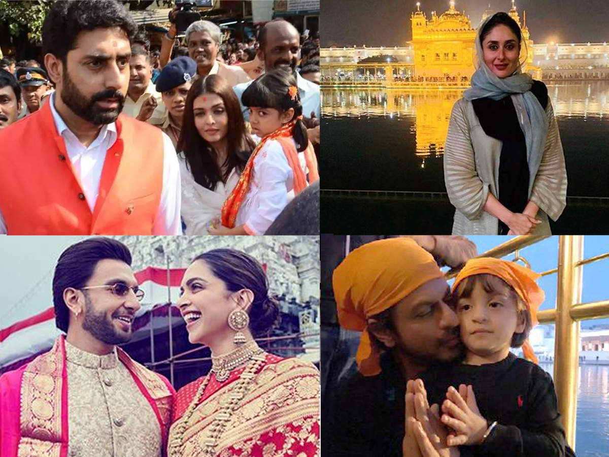 Deepika Padukone To Shah Rukh Khan And Kareena Kapoor – Bollywood Celebrities Snapped At Places Of Worship