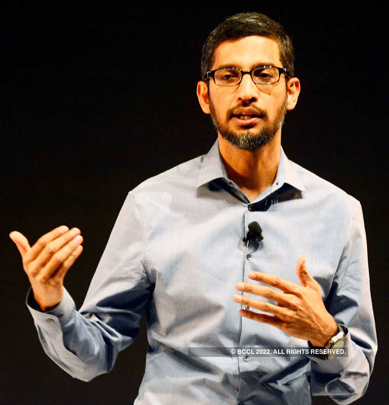 Sundar Pichai becomes Alphabet CEO as Google co-founders step down