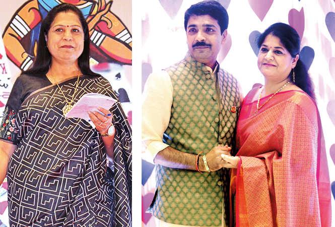 (L) Jyoti Maheshwari (R) Himanshu and Ruchira (BCCL/ Arvind Kumar)