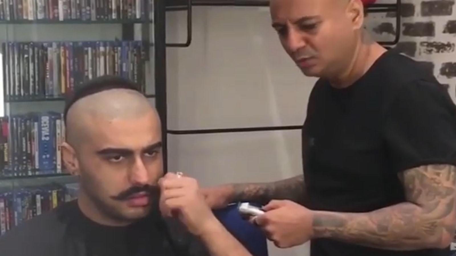 Malaika Arora gives a priceless reaction to beau Arjun Kapoor's BTS video of going bald for 'Panipat'