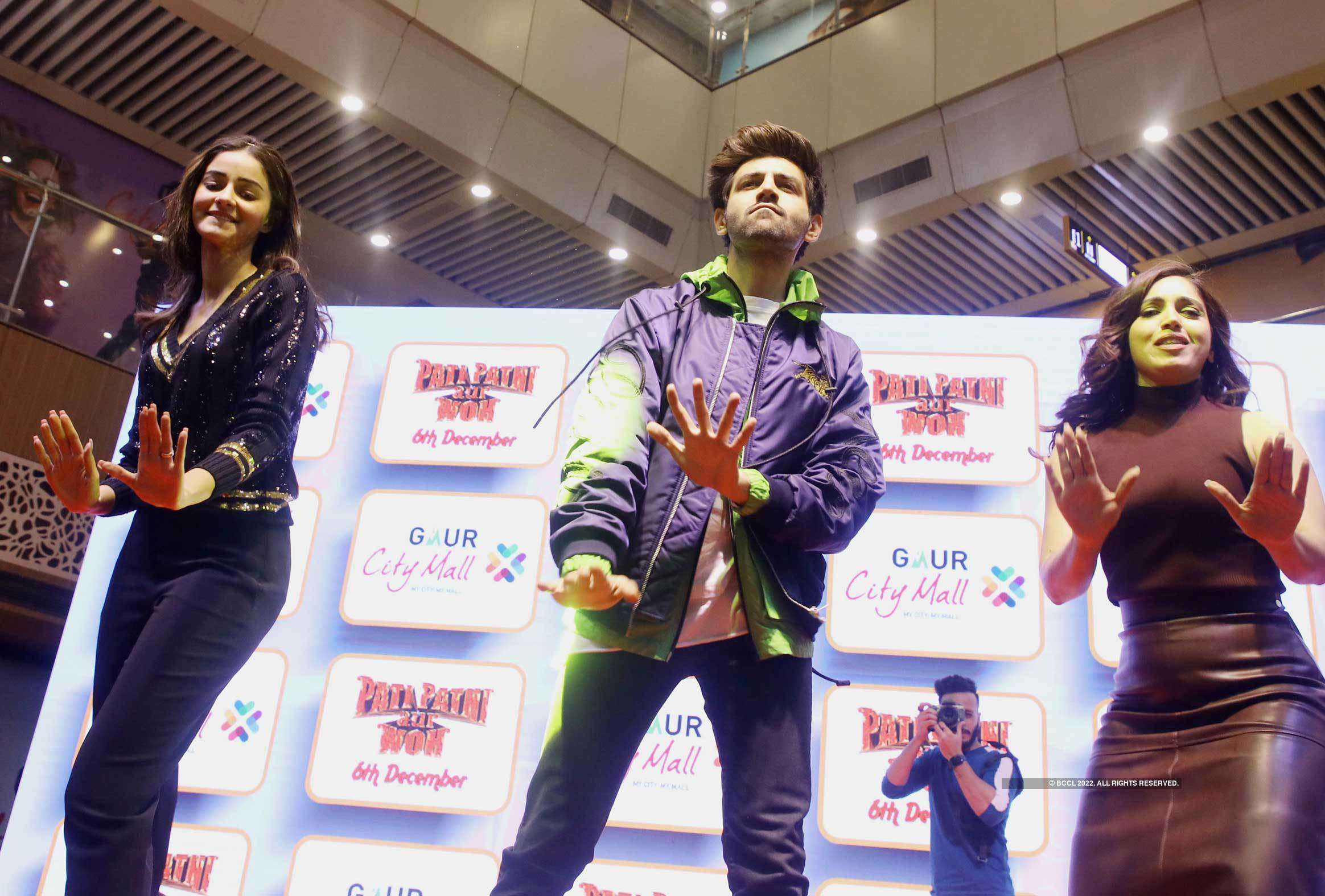 Ananya, Kartik and Bhumi grooved to Dheeme Dheeme