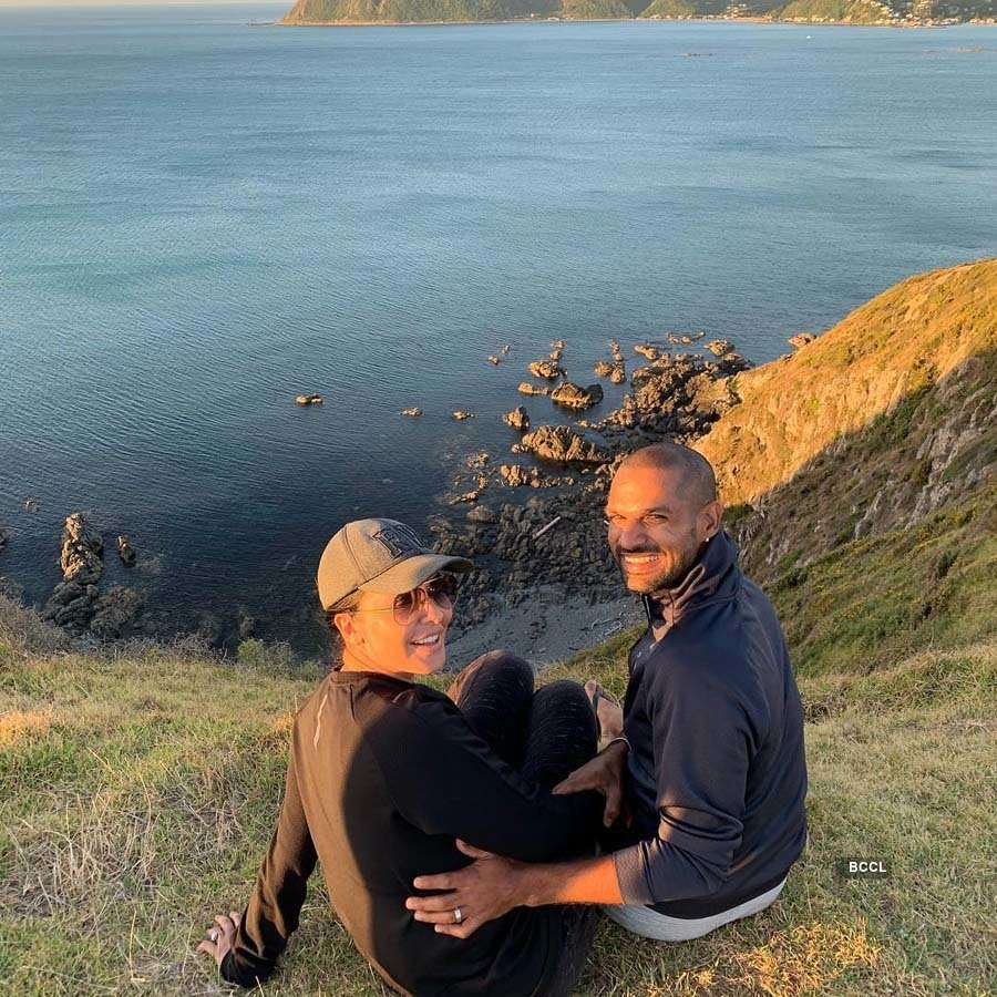 Beautiful moments from Shikhar Dhawan's personal life