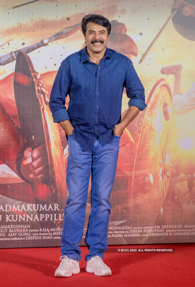 Mamangam: Hindi trailer launch