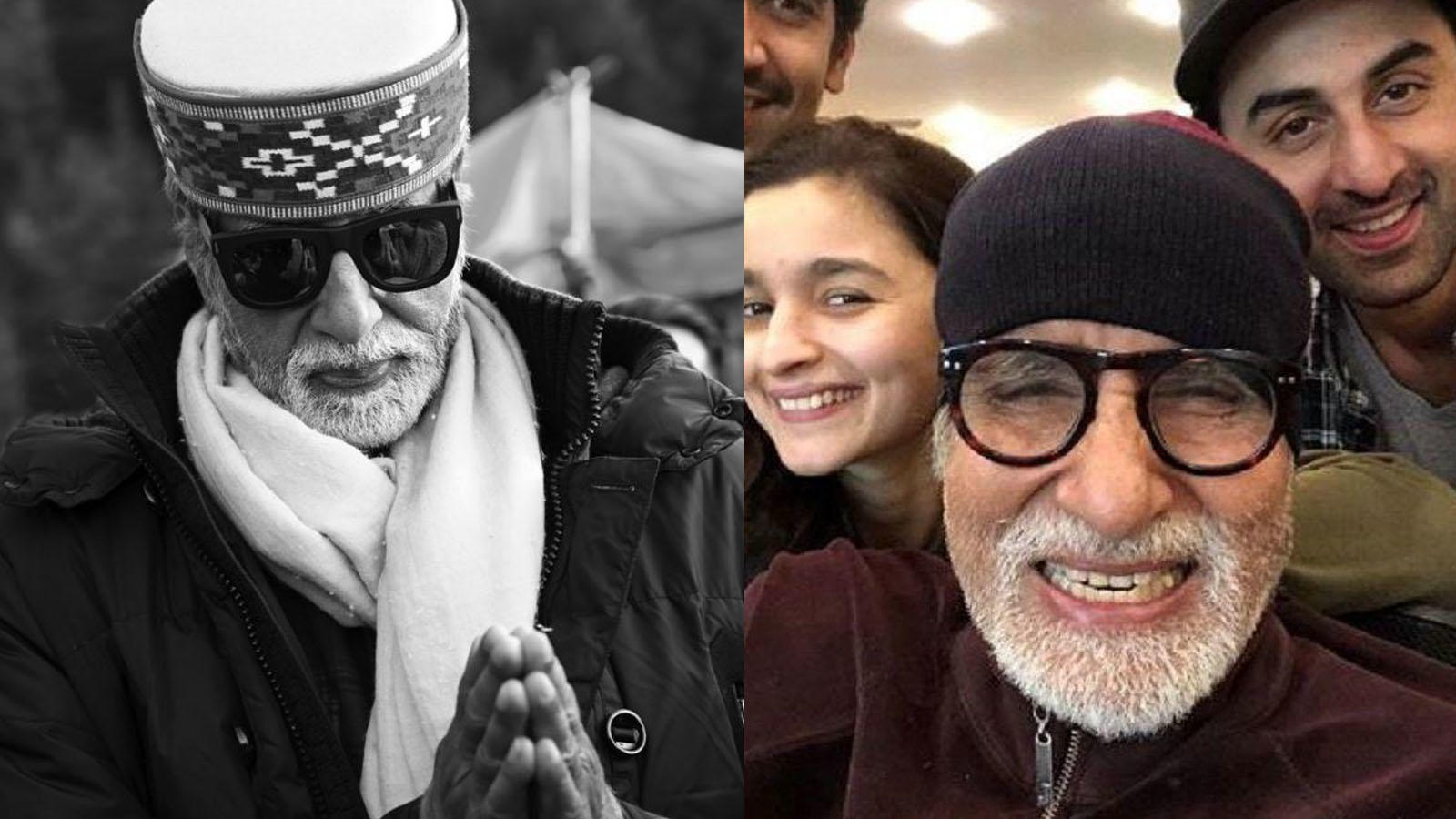 Amitabh Bachchan pens down a sweet thank you note for his fans in Manali for their love and well-wishes