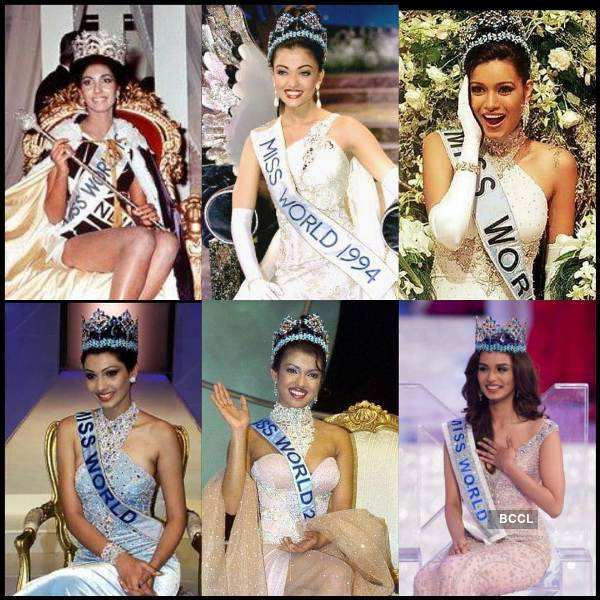 Beauty queens who brought Miss World crown to India