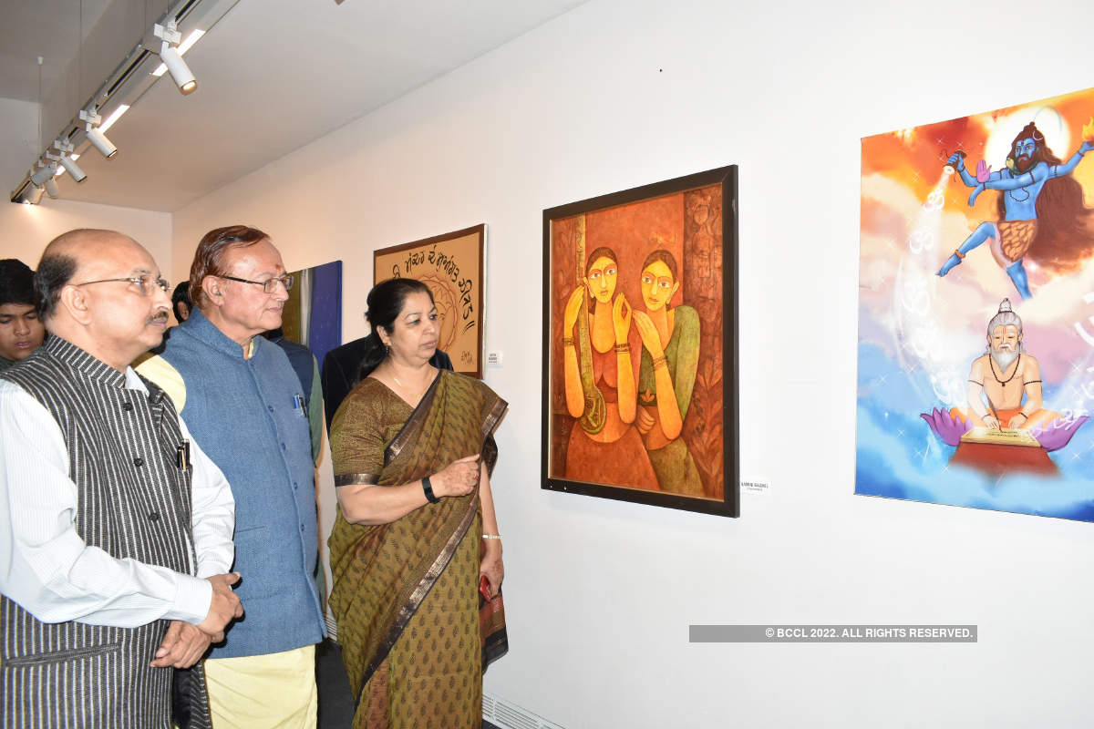 Art exhibition showcases the linguistic diversity of the country