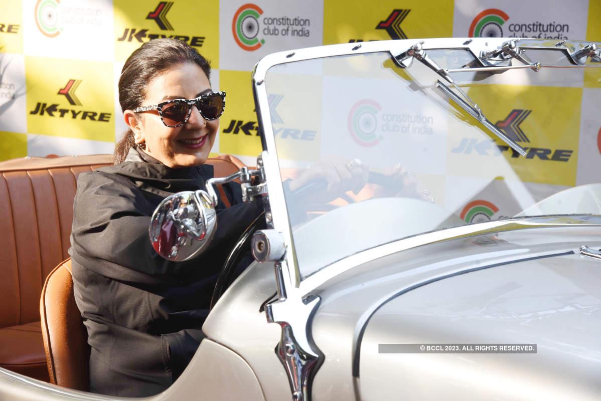 Parliamentarians' promote road safety in Delhi