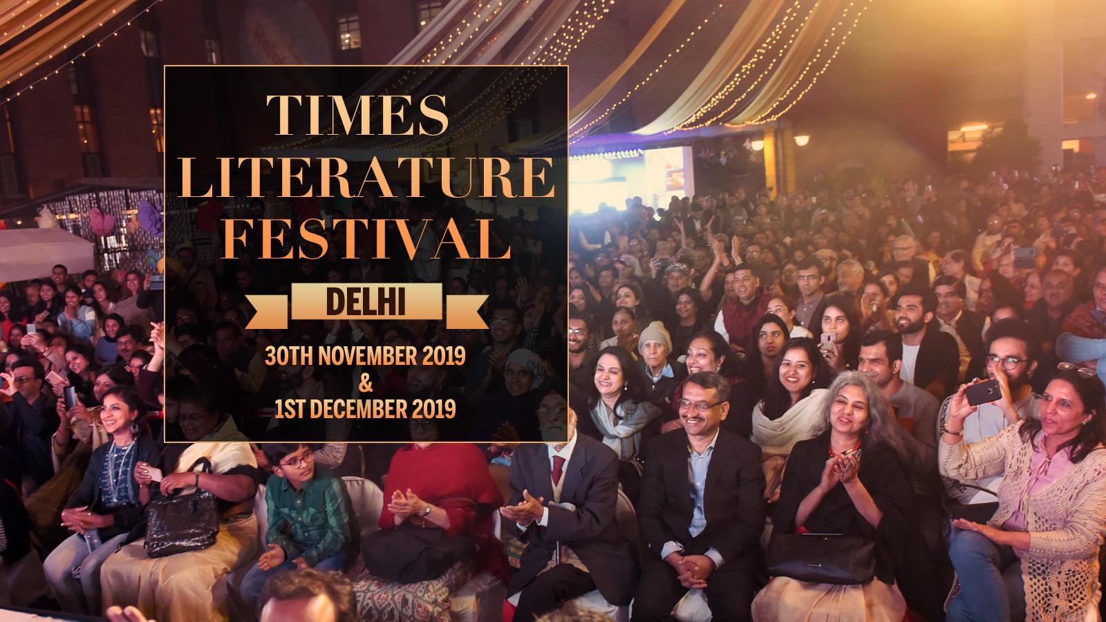 Times LitFest Delhi 2019