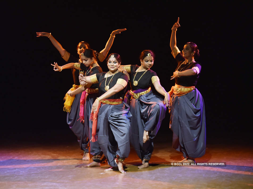 Dancers enthral audience at Nrutyasangam