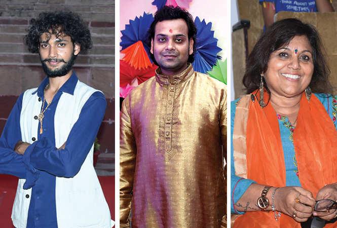 (L) Anant Sharma (C) Anuj Mishra (R) Chitra Mohan (BCCL/ Vishnu Jaiswal)