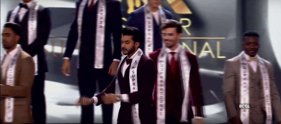 Varun Verma makes to Top 10 at Mister Supranational 2019