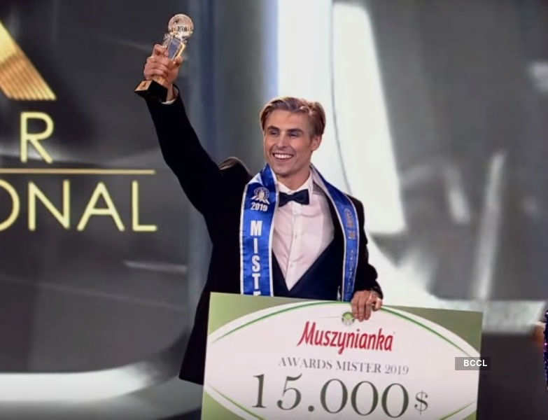 Nate Crnkovich wins Mister Supranational 2019