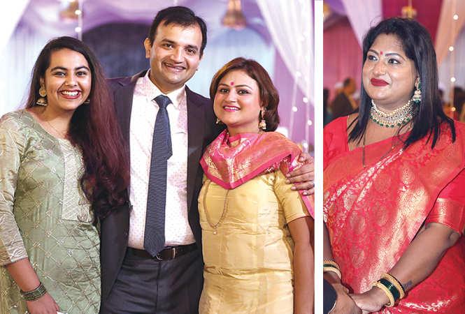 (L) Shambhavi, Pushkar and Pooja (R) Amrita Srivastava (BCCL/ Aditya Yadav)