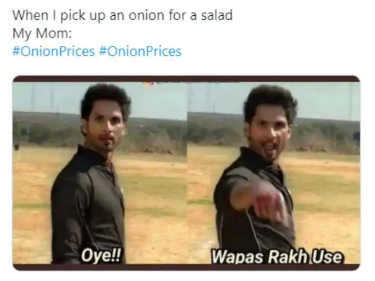 These Bollywood Memes On Hiked Onion Prices Are Sure To Crack You