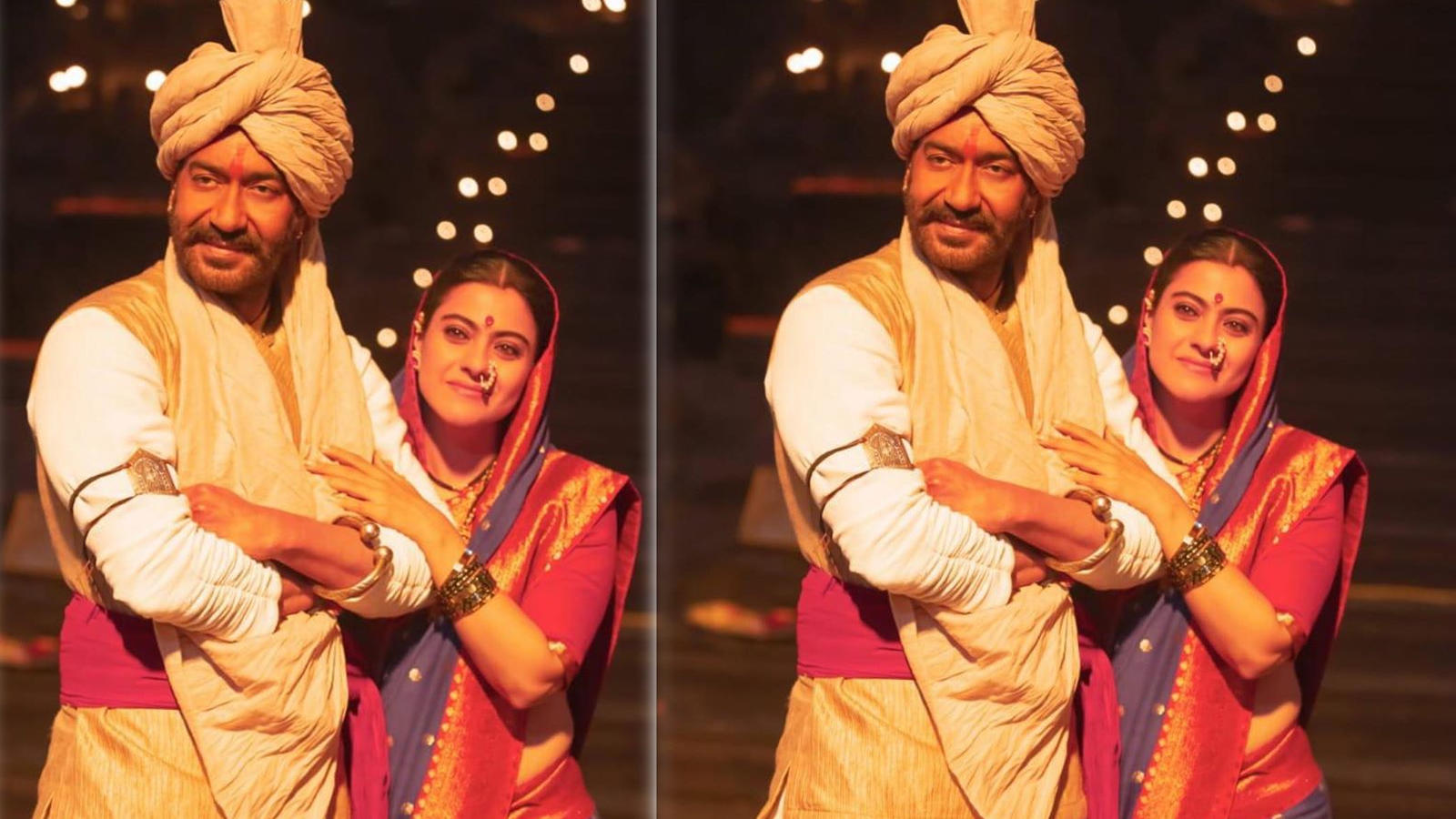 Ajay Devgn and Kajol's new pic from 'Tanhaji: The Unsung Warrior' wins hearts