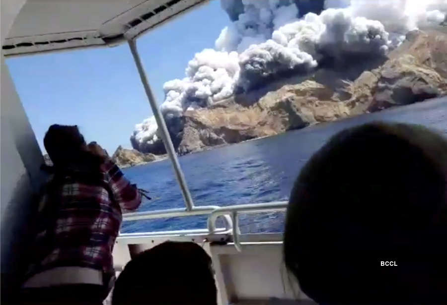 In pics: At least 13 feared dead in New Zealand's volcano eruption