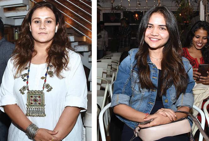 (L) Priyanka Sarkar (R) RJ Tripti (BCCL/ Farhan Ahmad Siddiqui)