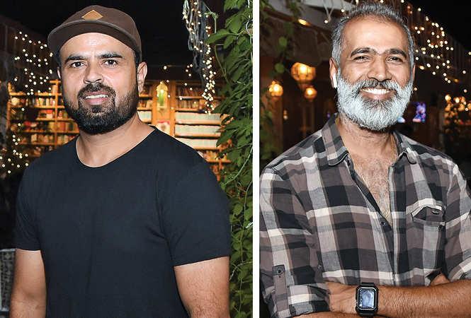 (L) Ali Hamid Zaidi (R) Bhoopesh Rai (BCCL/ Farhan Ahmad Siddiqui)