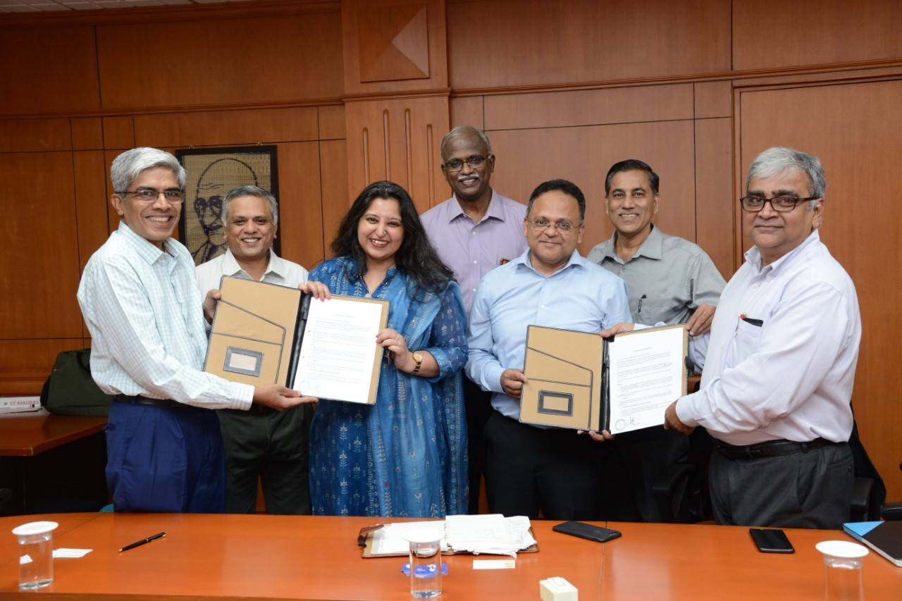 IIT Madras collaborates with data network provider for advancements in 5G communications technology