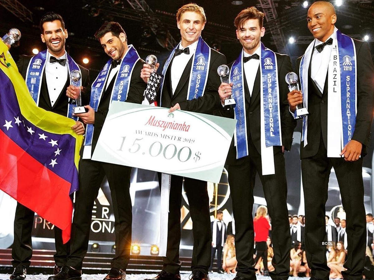 Nate Crnkovich wins Mister Supranational 2019