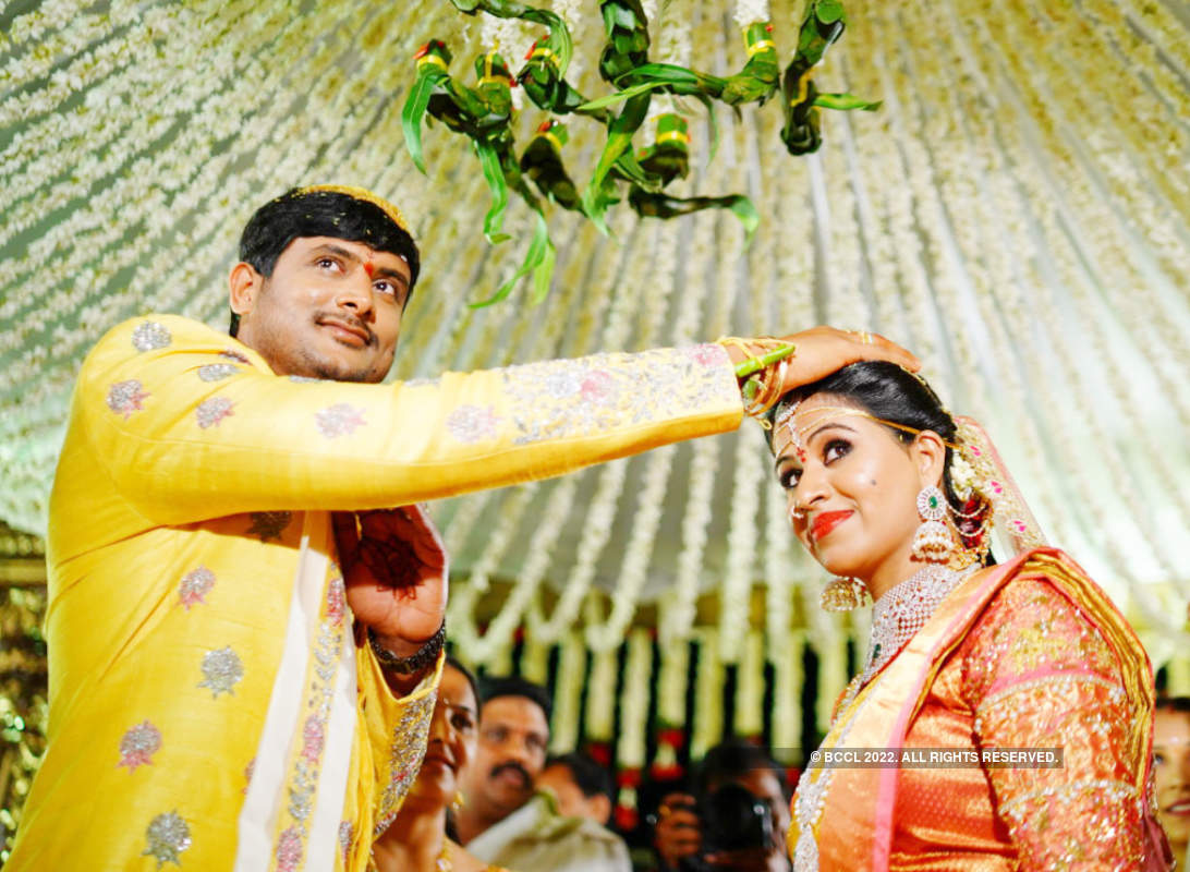 Actress Manali Rathod ties the knot with Vijith Varma in a glitzy ceremony