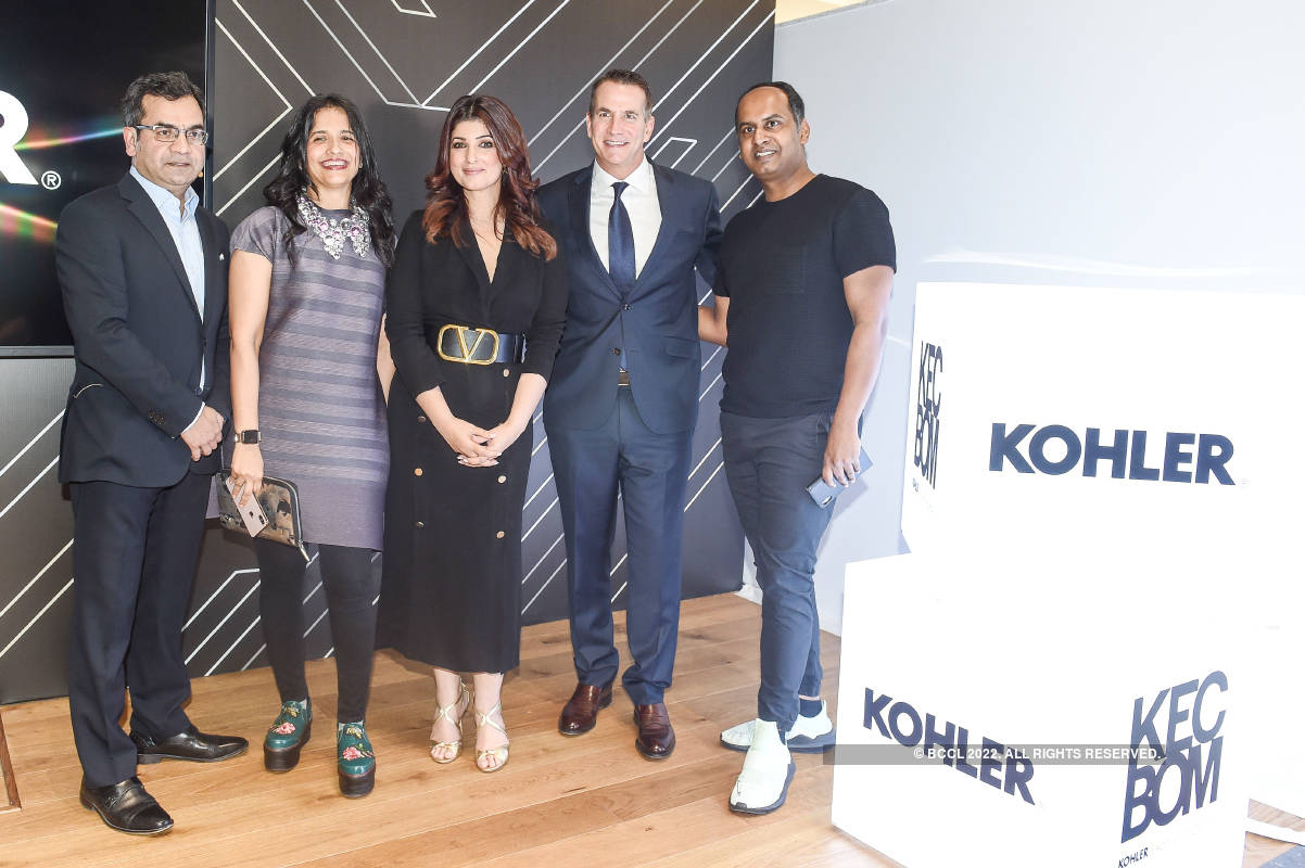 Twinkle Khanna launches an experience center of a brand