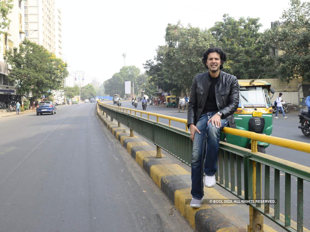 Ayaan Ali Khan vists Ahmedabad