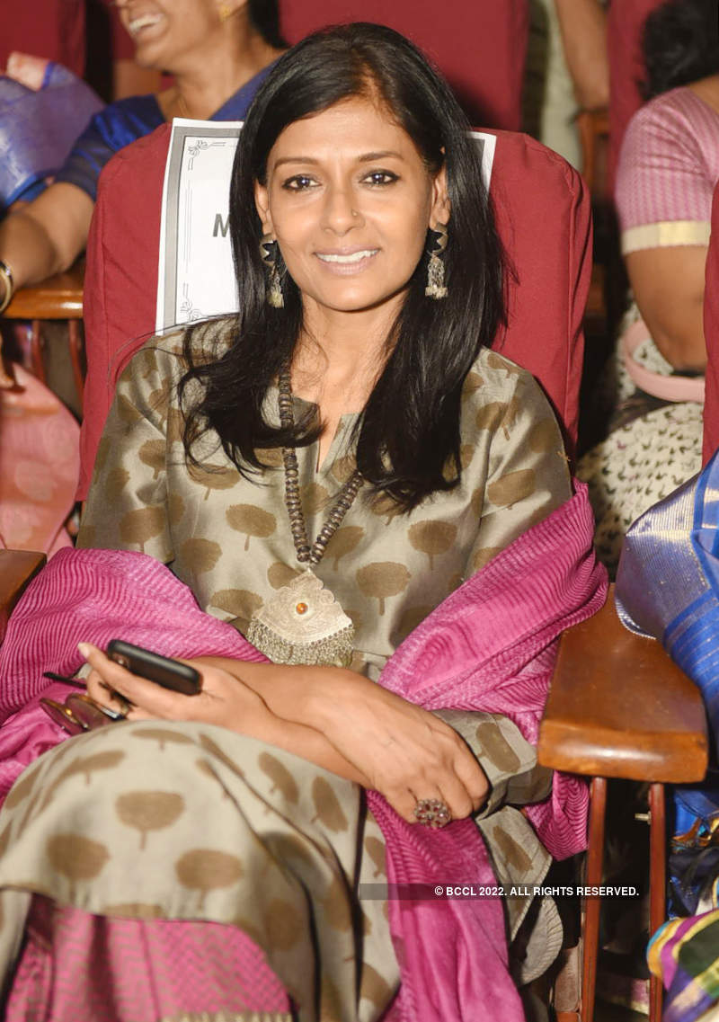Nandita Das gets felicitated with Sankalp Sanjeevani Puraskar