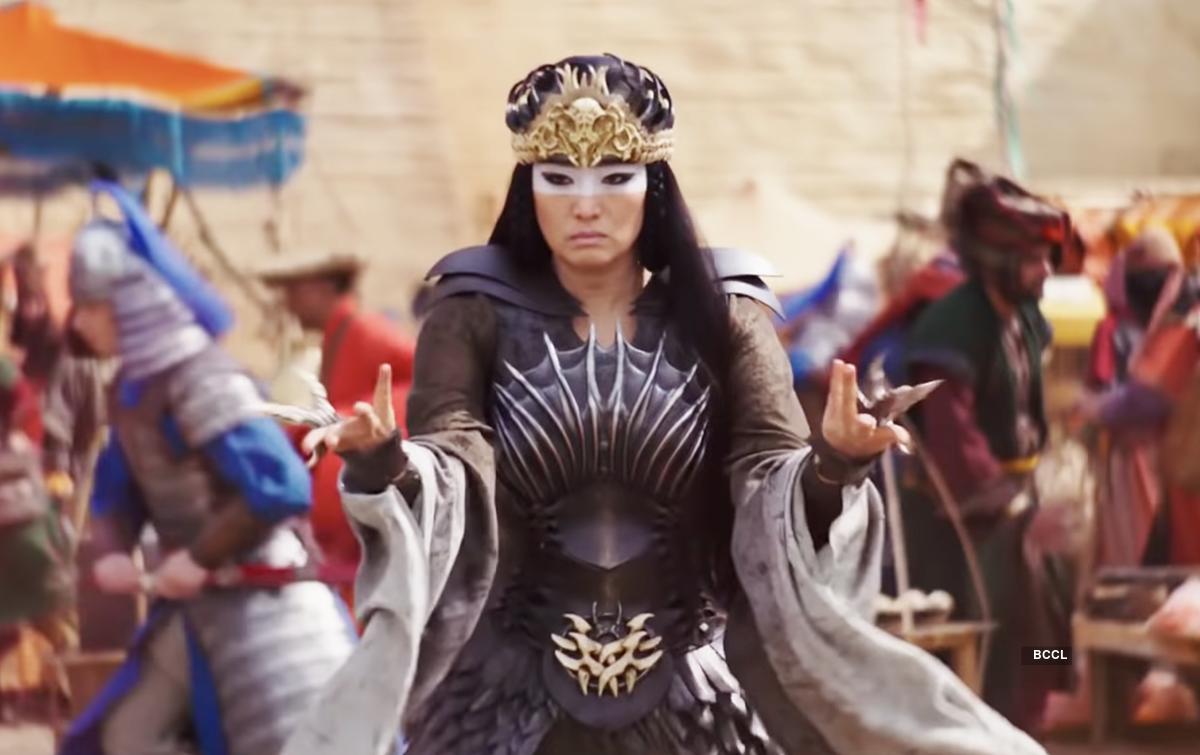 Gong Li plays the villain, Xian Lang, in Disney's 'Mulan'