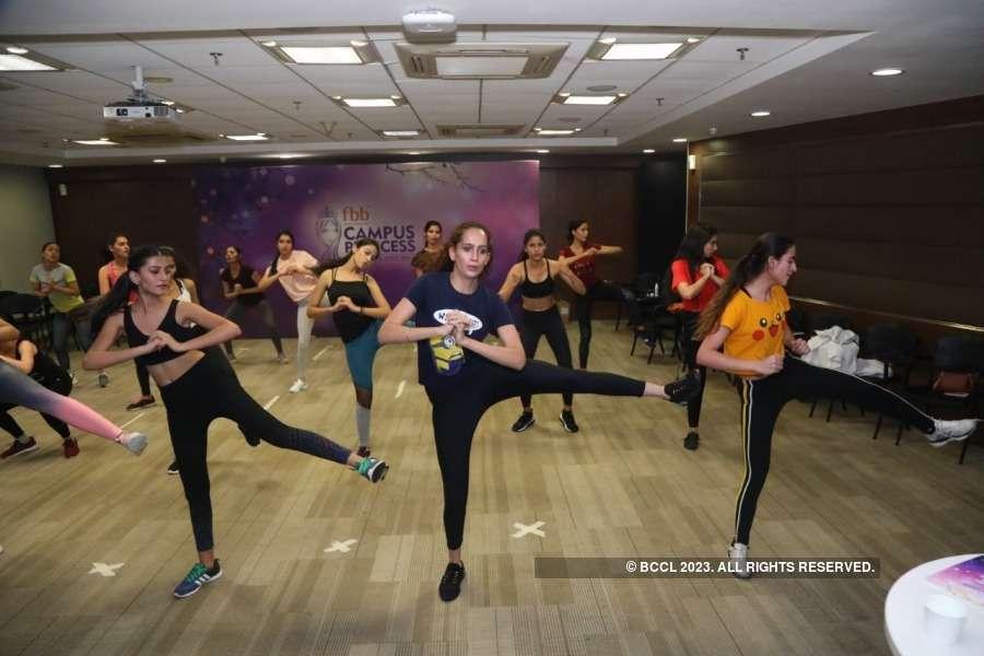 fbb Campus Princess 2019: Functional training with Rohinton Balsara