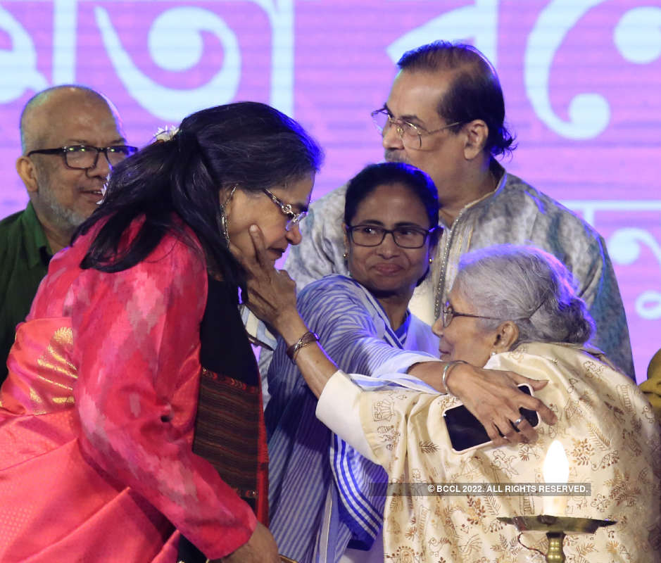 Stars at the inauguration of the Bangla Sangeet Mela and Bishwabangla Loksanskriti Utsav
