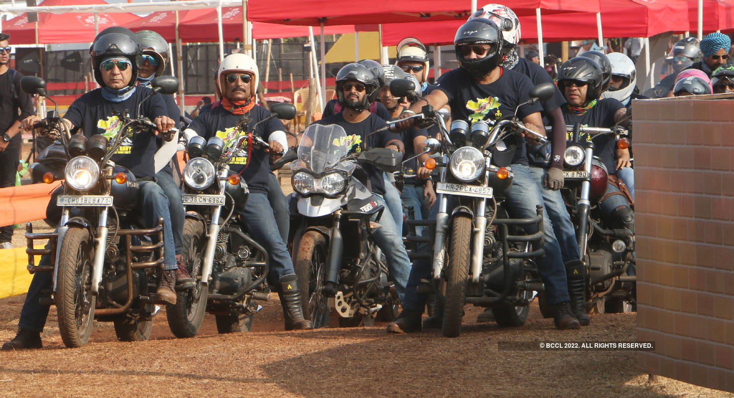 Motorcycling enthusiasts participate in India Bike Week