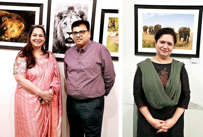 (L) Vandana Sehgal and Lokesh Rastogi (R) Yasmeen Saeed (BCCL/ Aditya Yadav)