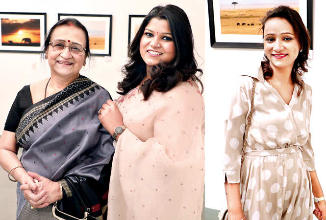 (L) Sudha and Charu Rastogi (R) Supriya Rastogi (BCCL/ Aditya Yadav)