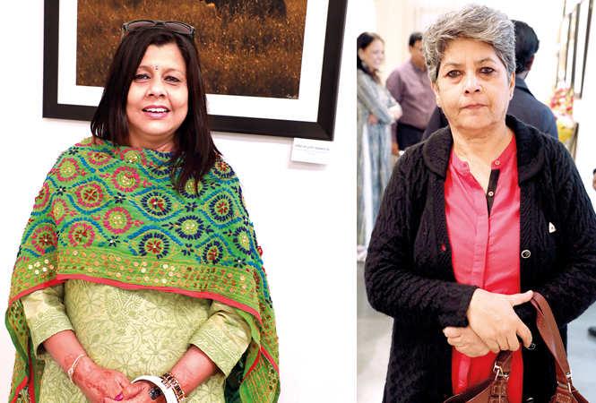(L) Jyoti Sinha (R) Dr Anita Singh (BCCL/ Aditya Yadav)