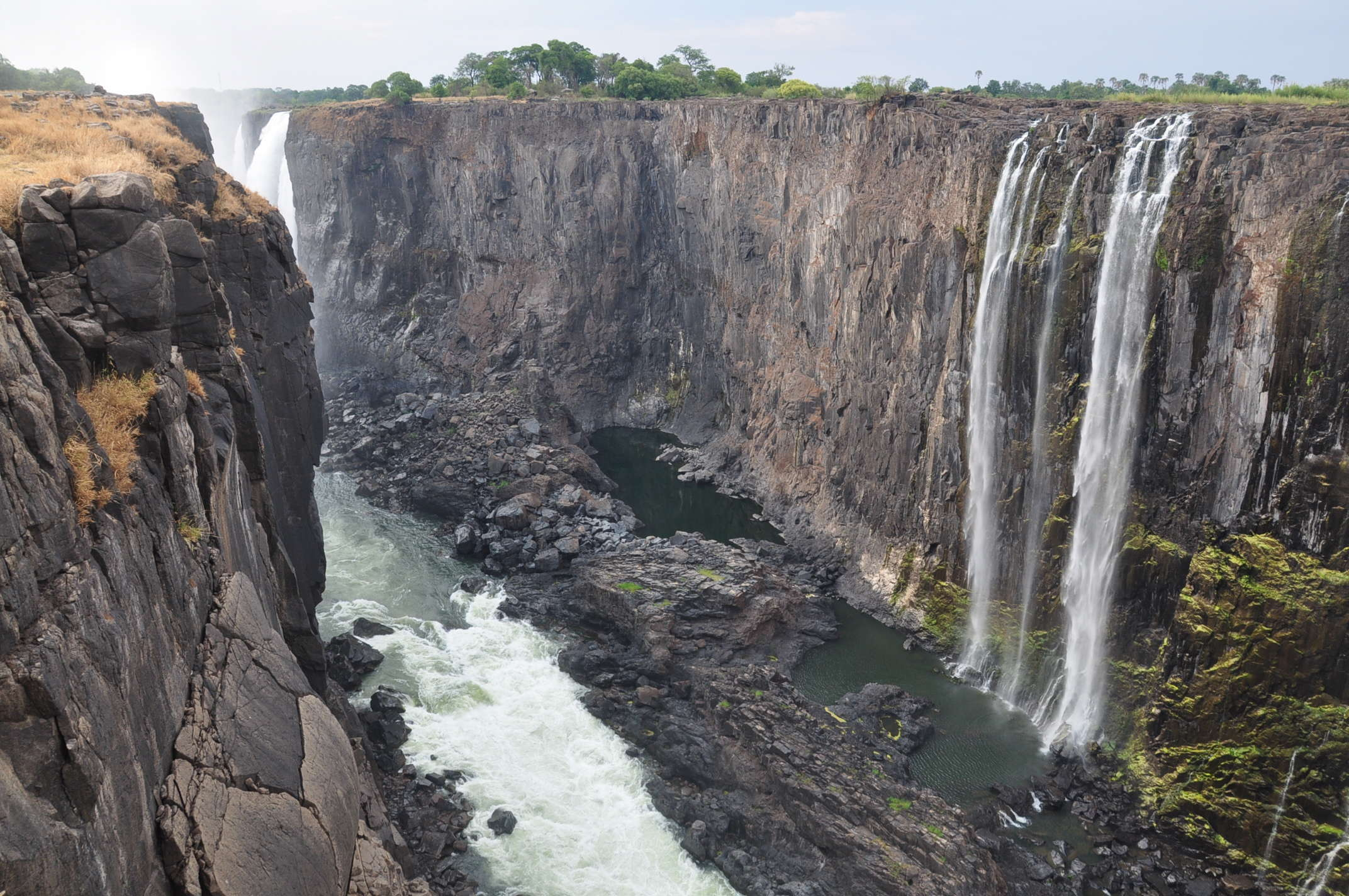 The Magnificent Victoria Falls Is Hit By Severe Drought And