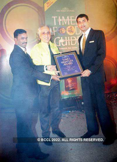 Times Food Guide Winners 2011: Bangalore