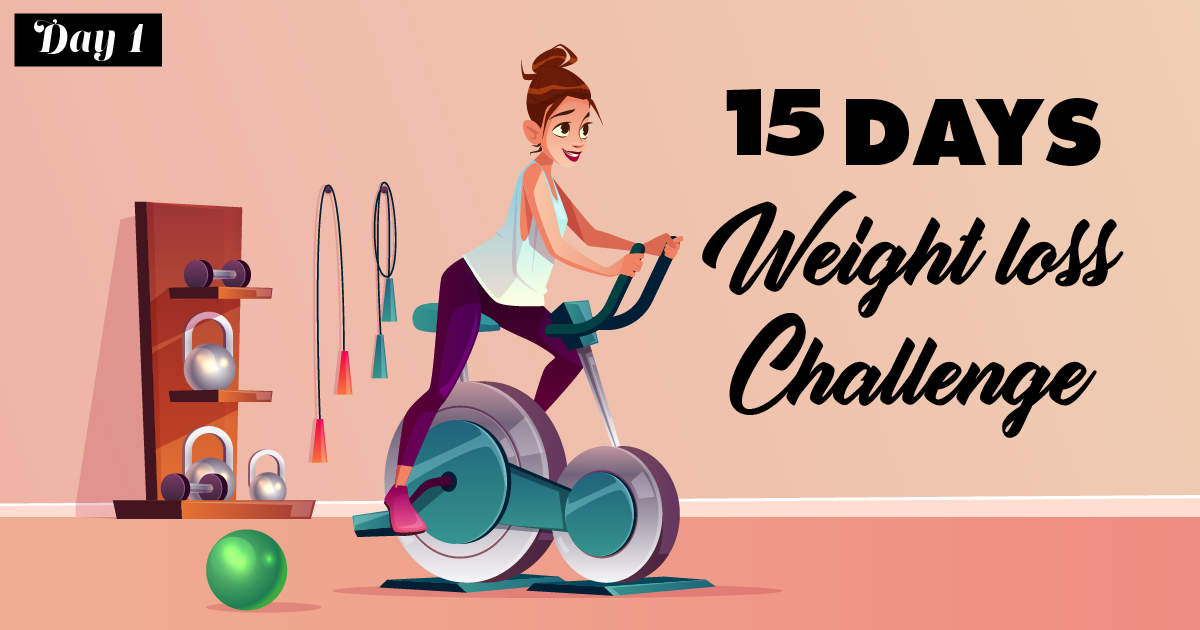 15-Day Weight Loss Challenge: Day 1, drink lots of water