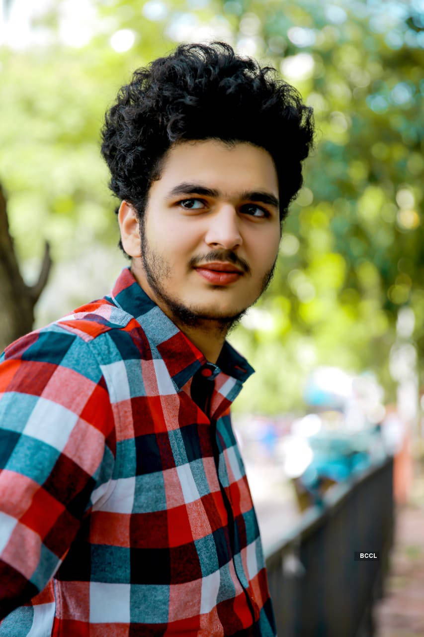 """Pictures of Bhavesh Kumar who is excited about his second film """"Hawaayen"""""""