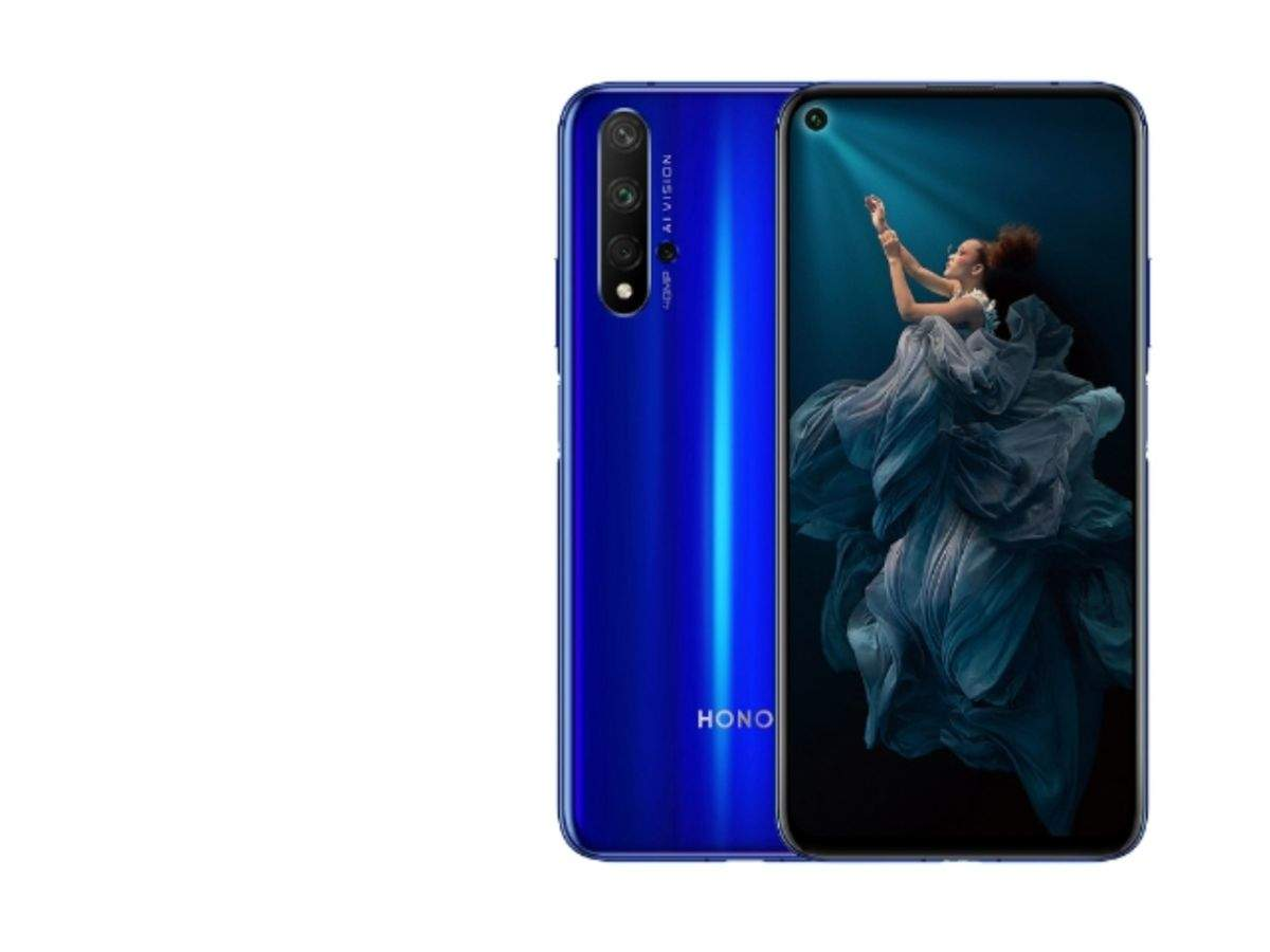 Honor 20 Pro: Company's first phone with punch-hole design and powered by flagship Kirin 980 processor