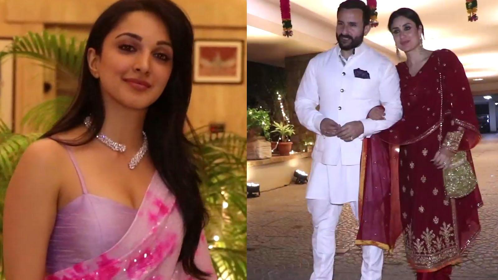 Kareena Kapoor-Saif Ali Khan, Kiara Advani and other Bollywood celebs dazzle at Armaan Jain's roka ceremony