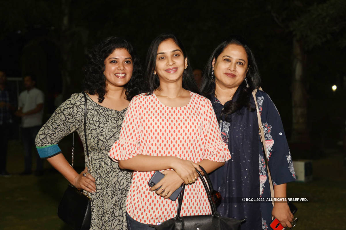 Music lovers enjoy at Hyderabad Jazz Festival