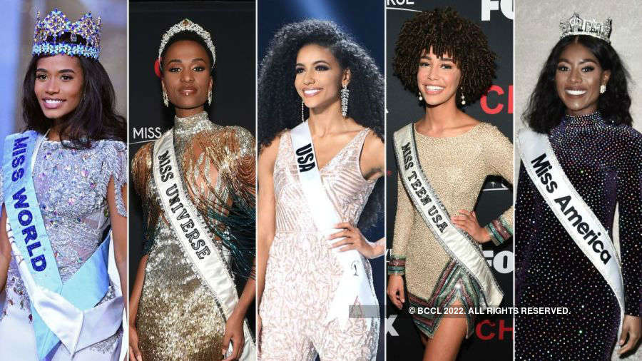Black women who ruled five Major Beauty Pageants this year
