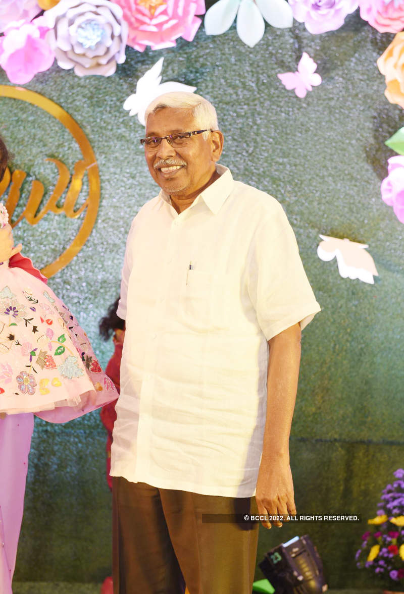 P3Ps attend Marri Channa Reddy's great-granddaughter's birthday party