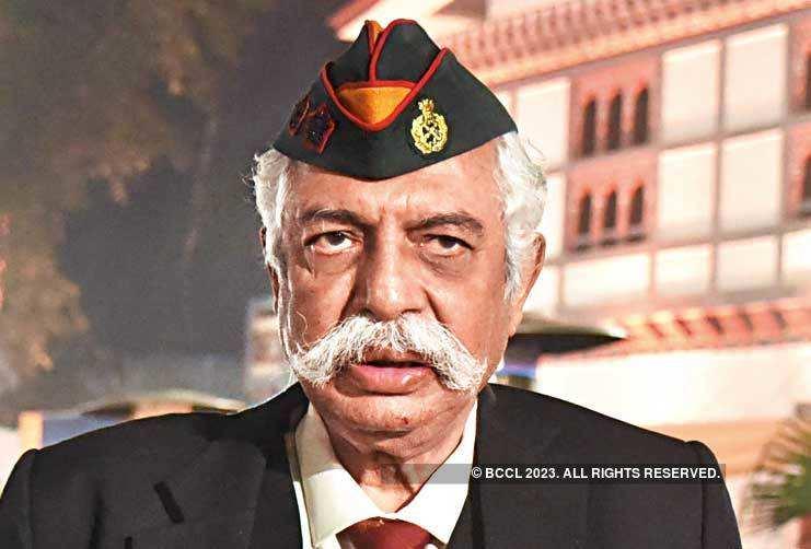 Retired Major General GD Bakshi