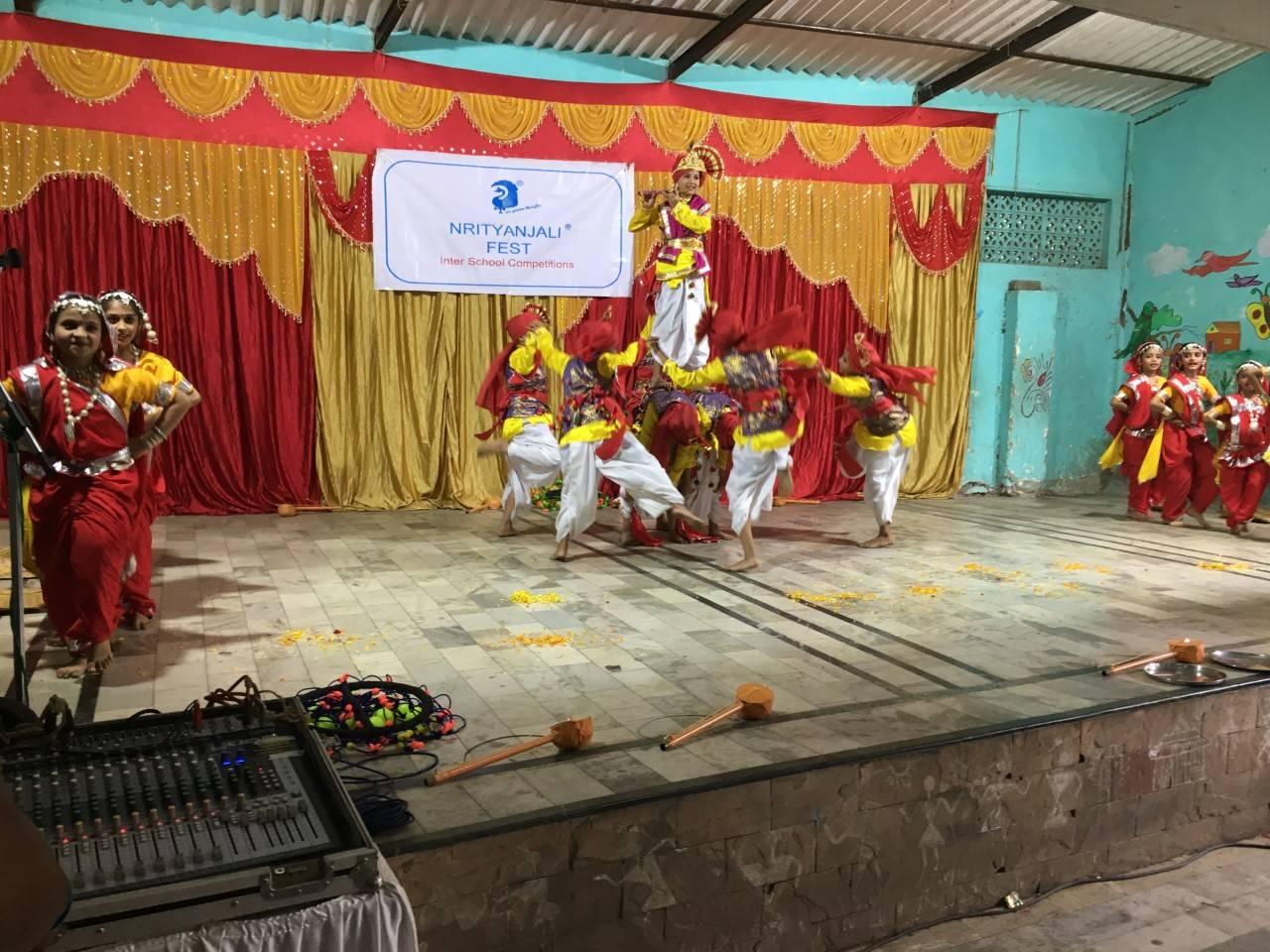 Mumbai schools participate in 33rd Nrityanjali Fest