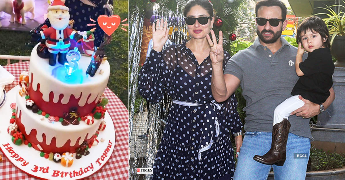 Inside pictures from social media star Taimur Ali Khan's birthday