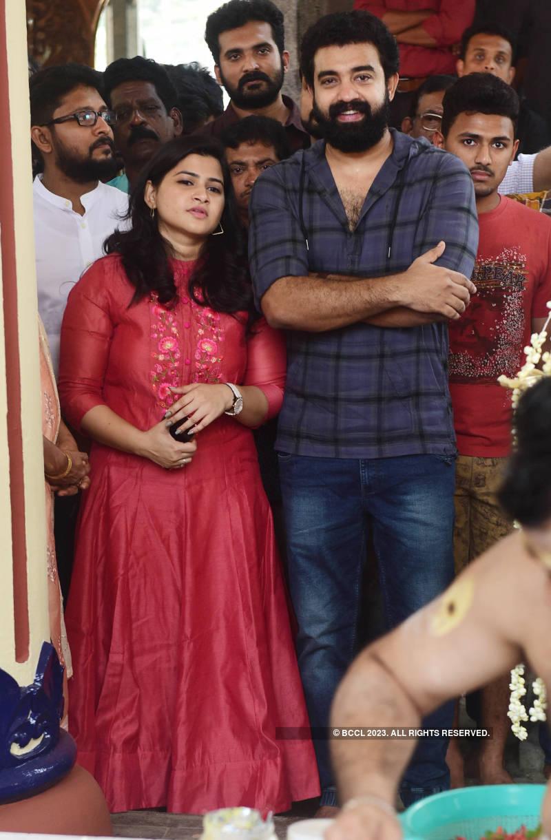 Celebs attend muhurat of the film 'Varayan'